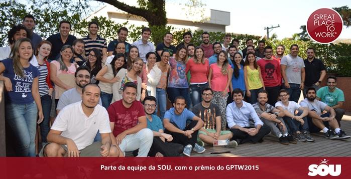 Melhores Empresas para Trabalhar – GPTW2015