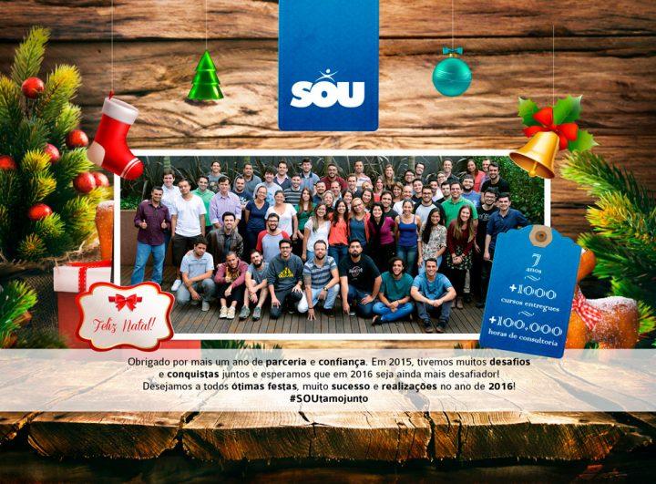 Campanha de Natal Presente SOUlidário 2015