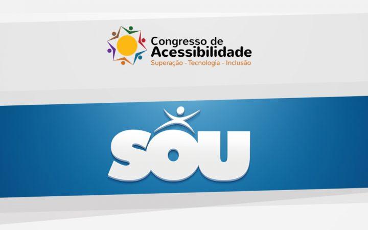 SOU no Congresso de Acessibilidade